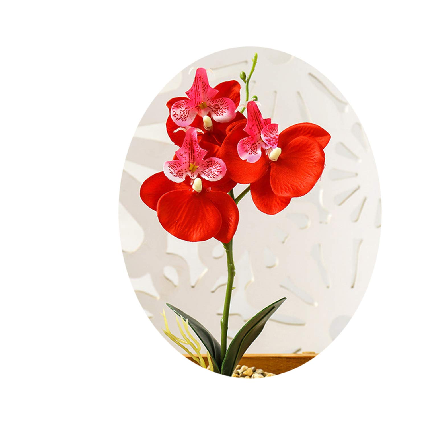 Amazon Com 29cm Butterfly Orchid Artificial Flower For Home