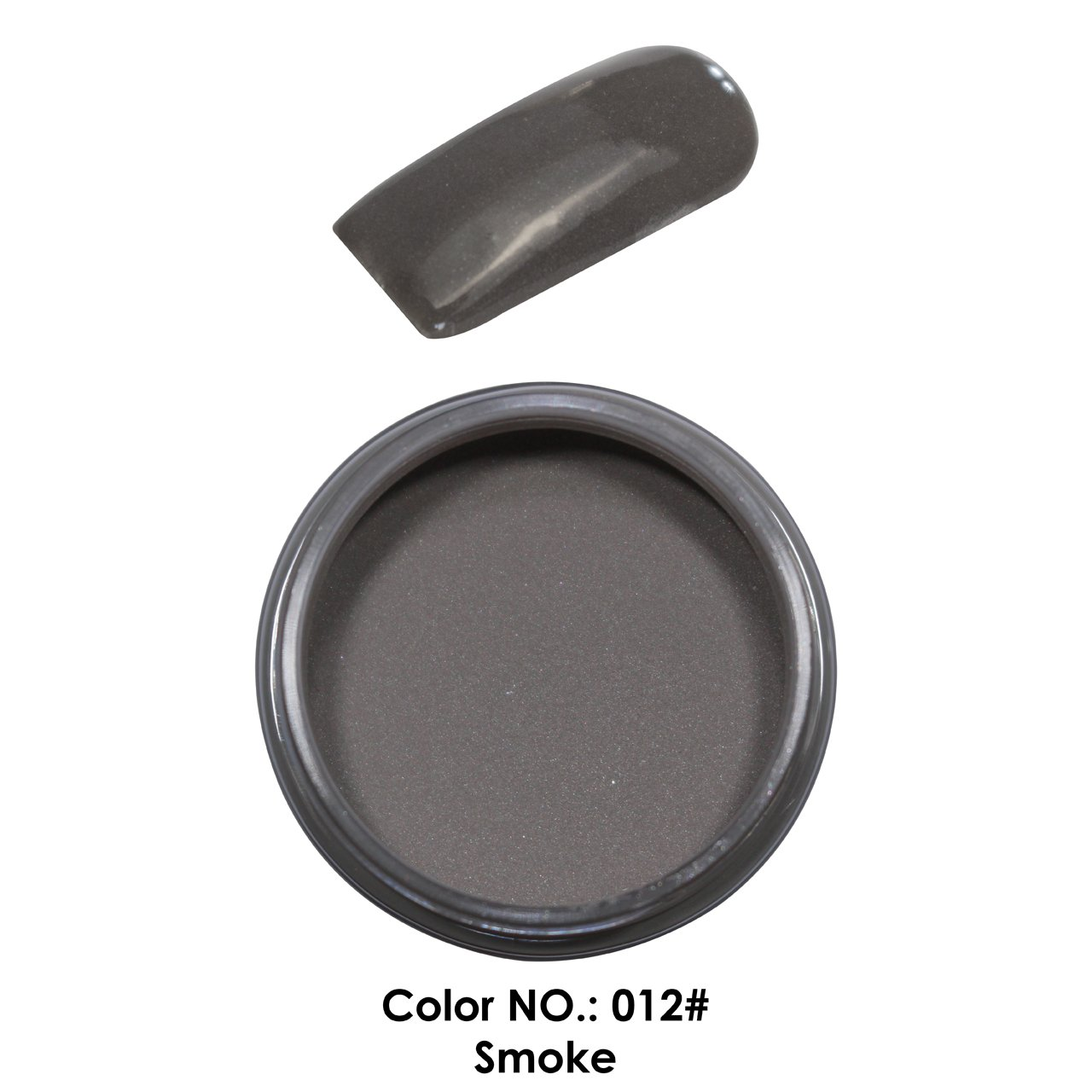 C & I Dipping Powder Color No.012 Smoke Granny Color System Fulei Trading