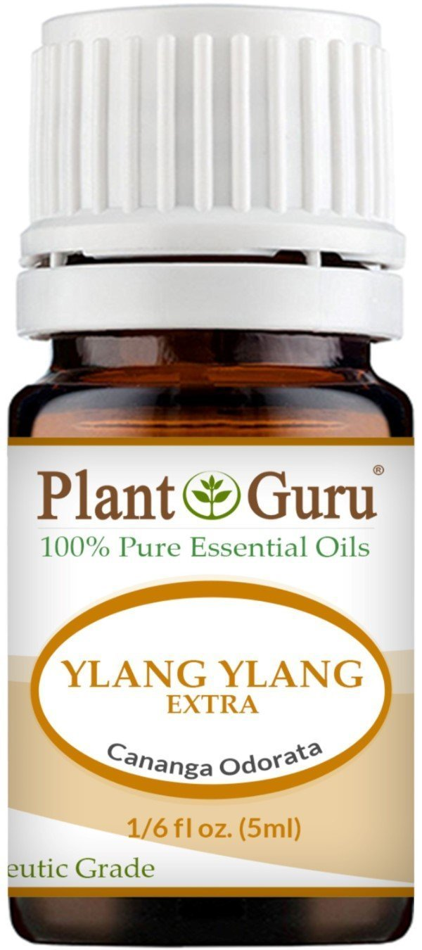 Ylang Ylang Extra Essential Oil. 5 ml. 100% Pure, Undiluted, Therapeutic Grade. by Plant Guru B017I2UOO4