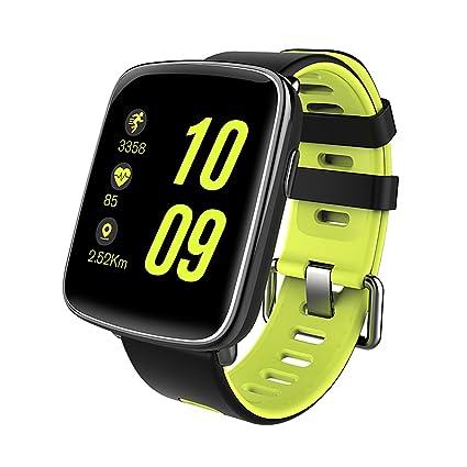 Diggro GV68 Smartwatch Bluetooth IP68 MTK2502D reloj inteligente Monitor de ritmo cardíaco Pedometer Monitor de sueño Sedentary Reminder Música y ...