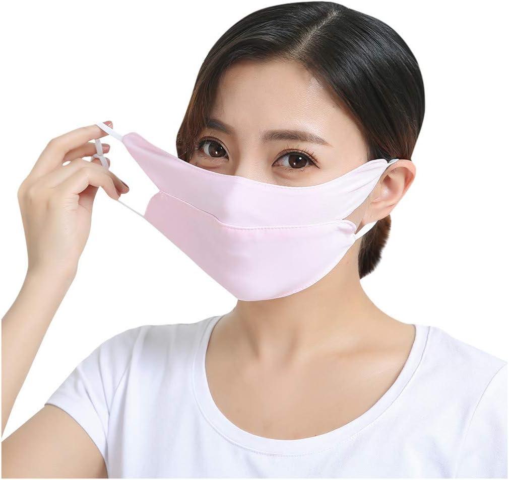 Reasoncool Frauen Erwachsene Waschbare Anti Ultraviolett Meryl Feststoff Mund Staub Bandana Freizeit Sonnenschutz
