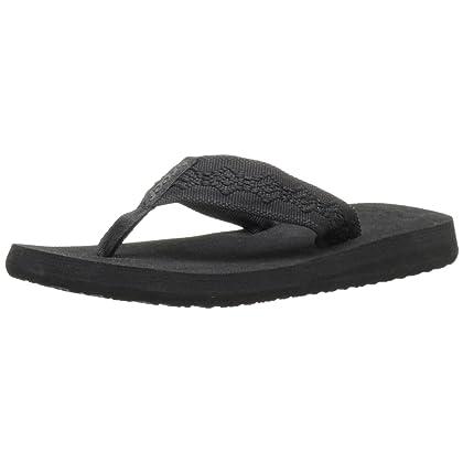 Sandy All Black Sandals womens (6)