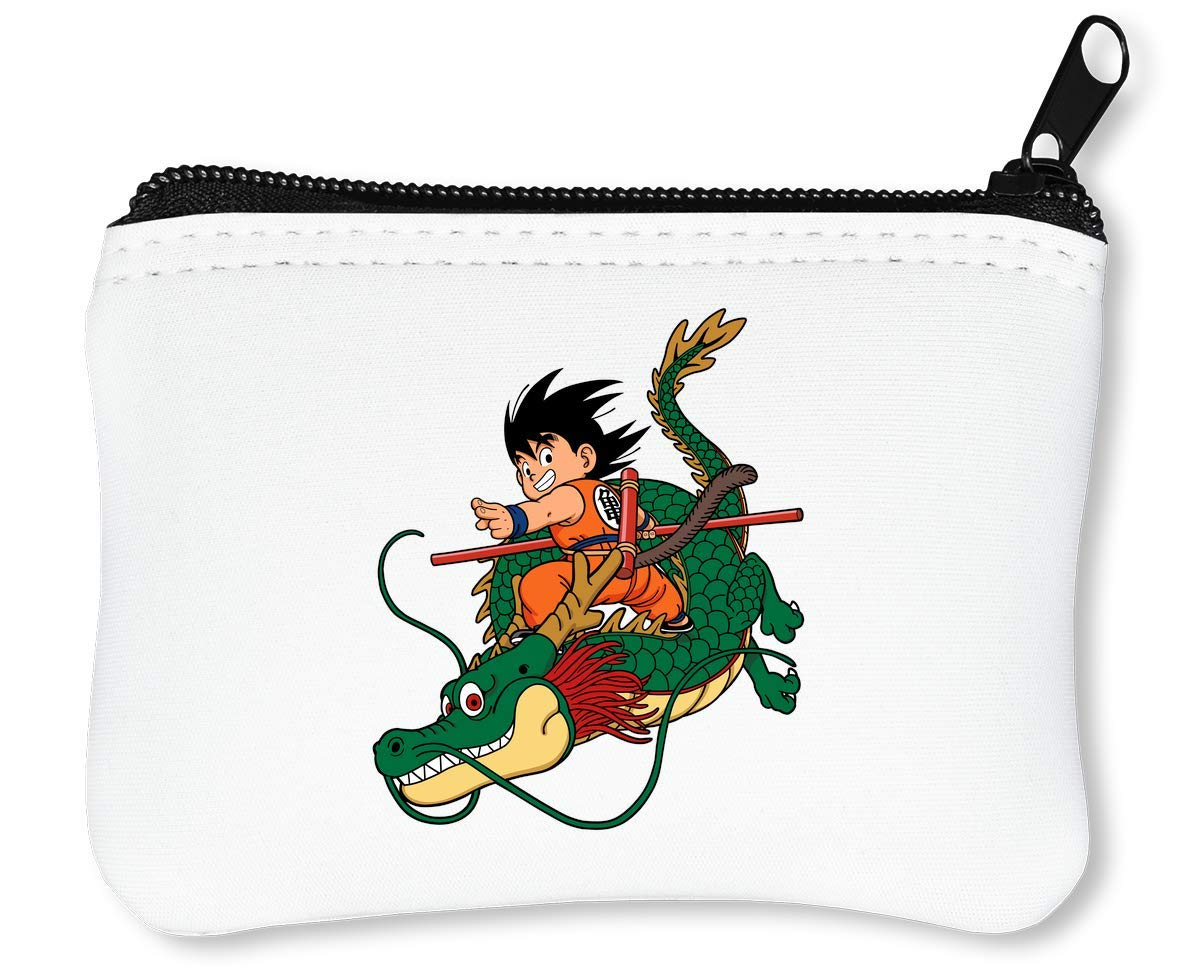 Dragon Ball Z Sangok Dragon Billetera con Cremallera Monedero Caratera: Amazon.es: Equipaje