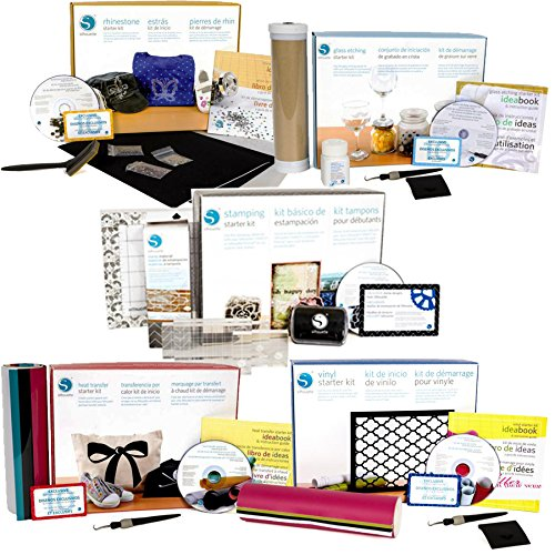 Silhouette Starter kit 5 Pack Bundle (Silhouette Mirror)