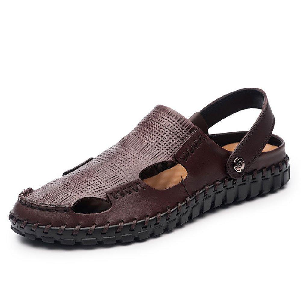Zapatillas De Playa De Verano Zapatillas De Deporte Baotou Sandalias 39 EU|Brown