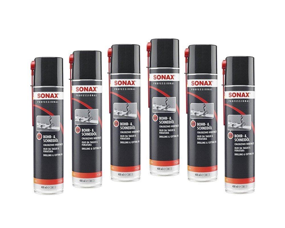 SONAX 809300 Professional Bohr- und Schneidö l, 400ml - 2 Dosen a 400ml