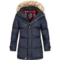 Geographical Norway - Chaqueta de Invierno Acolchada para Mujer, Transpirable, Resistente al Viento, Impermeable…