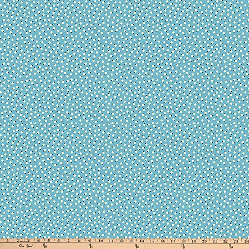 Denyse Schmidt Fabrics - FreeSpirit Fabrics Denyse Schmidt Ludlow Belly Button Dot Forget Yard