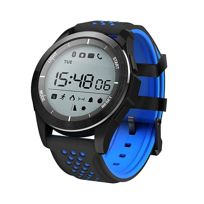 G&HR Inteligente Pulsera Fitness De con Pulsómetro Impermeable Bluetooth Actividad Sueño Monitor Toque Pantalla Presión Arterial De Oxígeno Sanguíneo ...
