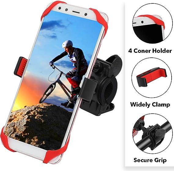 Bicycle Bike Mount Handlebar Phone Holder Grip 360° For Sony Xperia 10 Plus