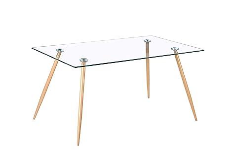 Noorsk Design Mesa de Comedor o Cocina Zola (120_x_80_cm ...