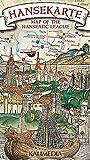 Hansekarte: Map of the Hanseatic League 1 : 2 150 000