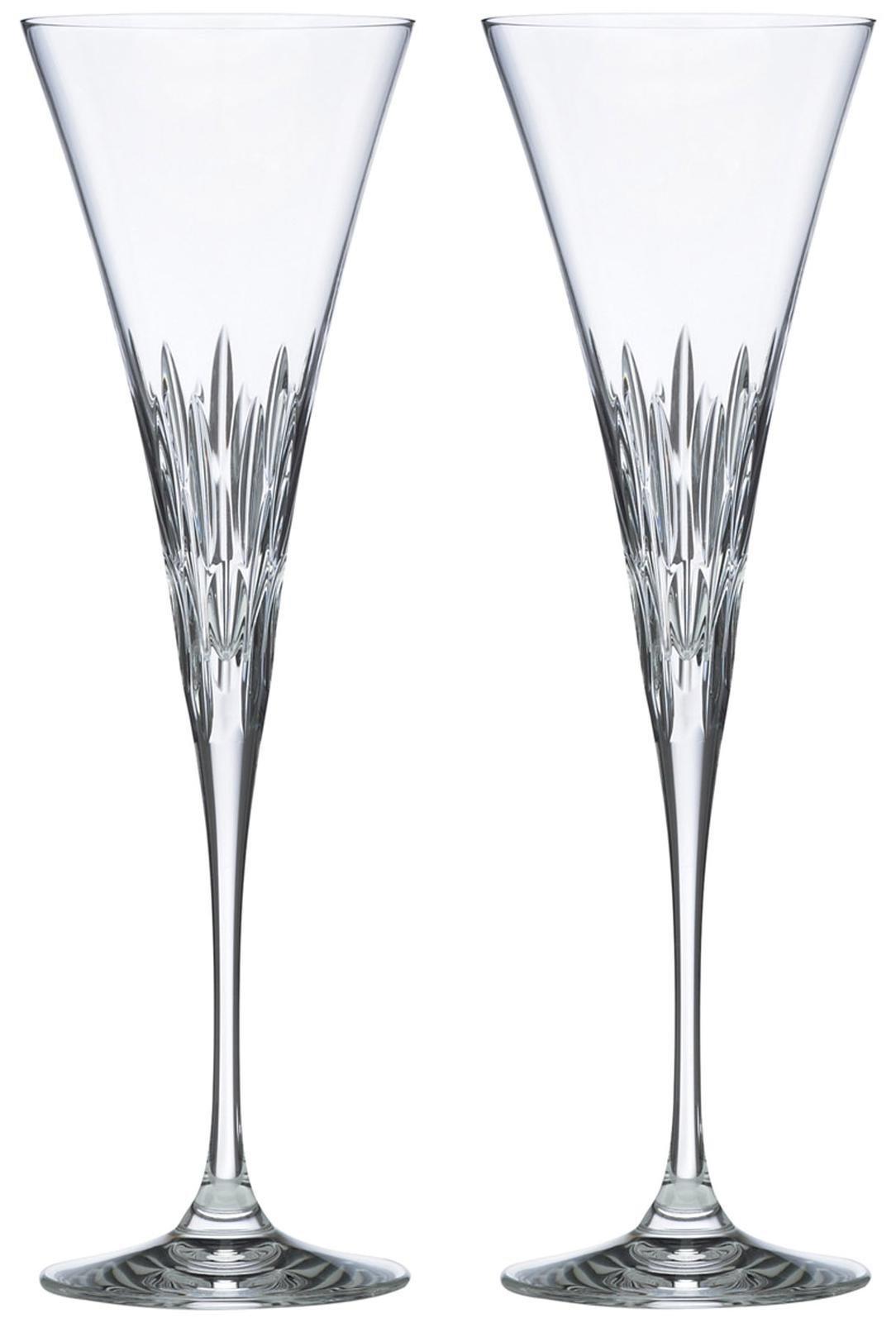 Lenox Firelight Crystal 2-piece Toasting Flute Set