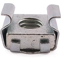 M8acero chapado en Zinc tuercas enjauladas, 1–1,7mm Panel