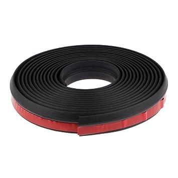 3m Z Type Car Body Door Edge Rubber Seal Strip Trim Protector Molding Black Line