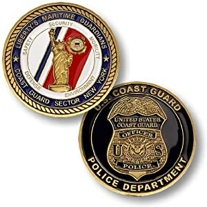 Coast Guard Sector NY -- Police Department Challenge Coin by Northwest Territorial Mint