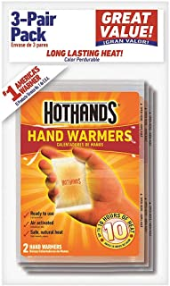 product image for Hand Warmer, 2-1/4 in. x 3-1/2 in, PK3