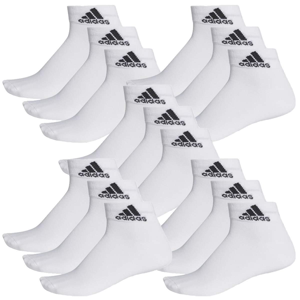 color:White 35-54 Unisex short sock Socken /& Str/ümpfe:35-38 15 pair adidas Performance Sneaker Socks Gr