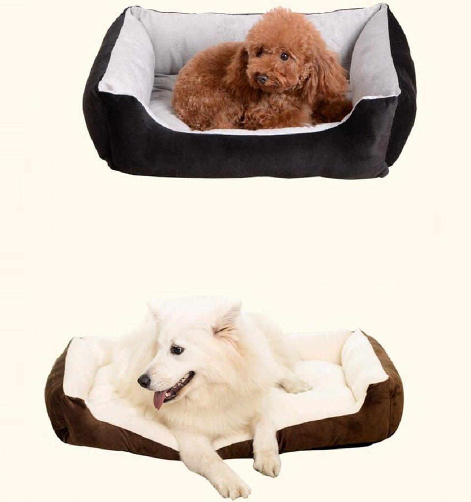 mylovepets Super suave pp algodón Samoyedo rectangular perro gato cama: Amazon.es: Productos para mascotas
