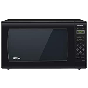Panasonic Microwave Oven NN-SN936B Black Countertop with Inverter Technology and Genius Sensor, 2.2 Cu. Ft, 1250W (Certified Refurbished)