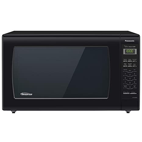 Amazon.com: Panasonic NN-SN736B Black 1.6 Cu. Ft. horno ...