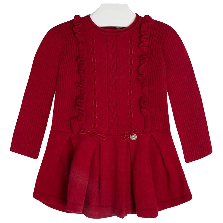 f421e82ceb31 Amazon.com  Mayoral Chic Baby Girls 3M-24M Angora Blend Ribbon-n ...