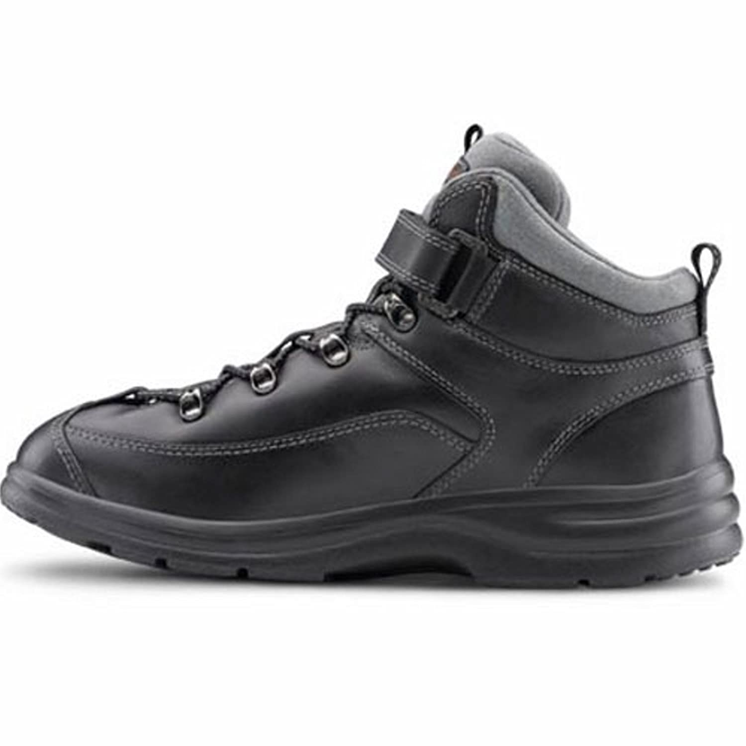 Dr. Comfort Vigor Women's Therapeutic Diabetic Extra Depth Hiking -4.0 Boot Leather Lace B00IO6JFI0 -4.0 Hiking X-Wide (E-2E) Black Lace US Woman|Black ca2610