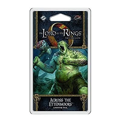 Lord of the Rings LCG: Across the Ettenmoors: Fantasy Flight Publishing, Inc.: Toys & Games