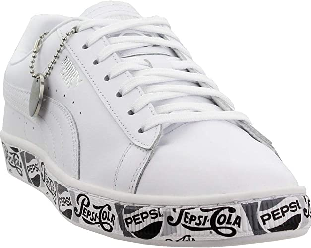 PUMA Mens Basket X Pepsi Ii Casual Sneakers,