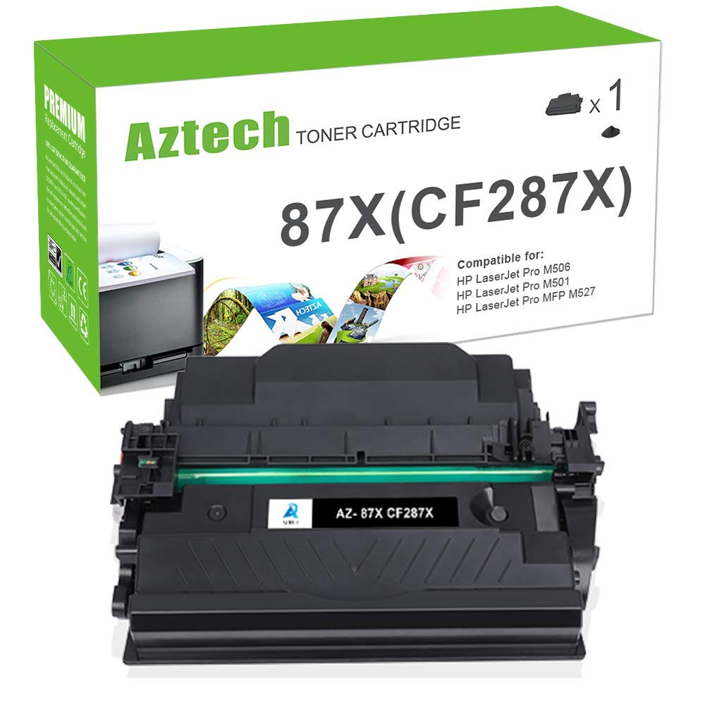 Aztech 1 Pack XXL Toner Compatible para HP CF287X 87X ...