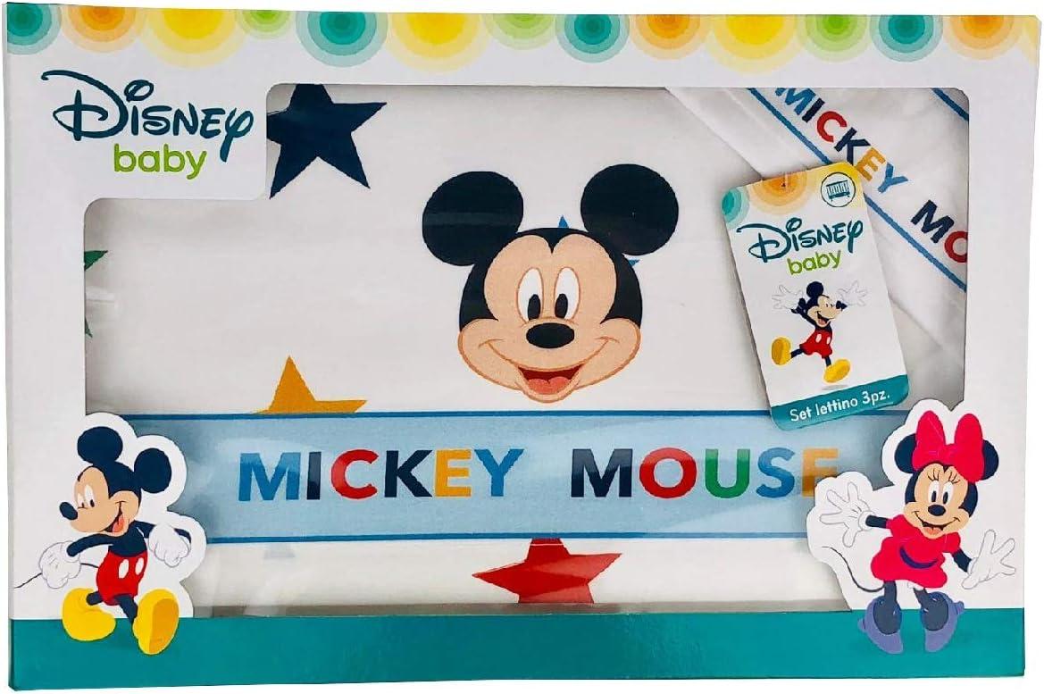 NADA HOME coordinado para Cuna de Mickey Mouse Disney Baby Juego ...