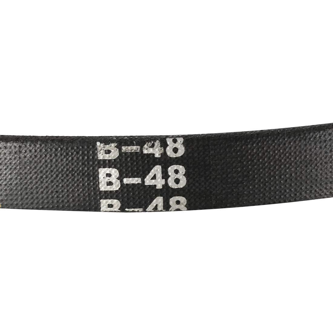 uxcell/® B47 Drive V-Belt Girth 47-inch Industrial Power Rubber Transmission Belt