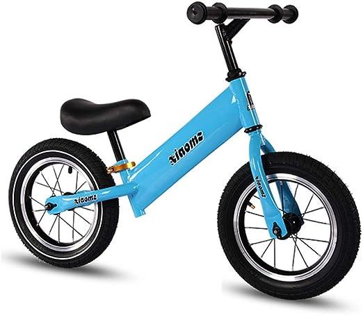 ZGYQGOO Bicicleta sin Pedales Equilibrio Entrenamiento Equilibrio Bicicleta para 2 3 4 5 6 años Niños Niñas Bicicleta Seguridad Ligero Niños Primera Carrera Equilibrio Bicicleta, Blanco: Amazon.es: Hogar