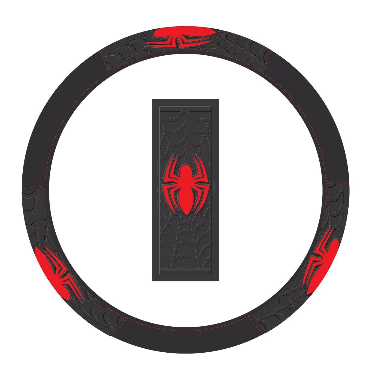 Plasticolor 006754R01 'Spiderman' Steering Wheel Cover