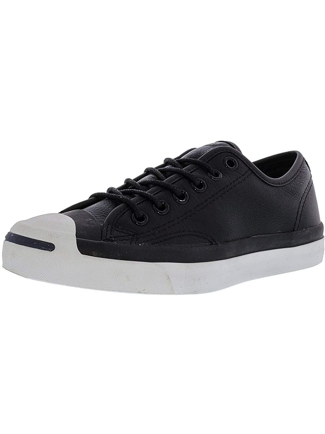 Converse Men's Jack Purcell Ox schwarz Leather 3 M