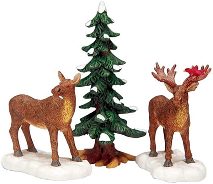 Lemax Village Collection Deer Family # 02929