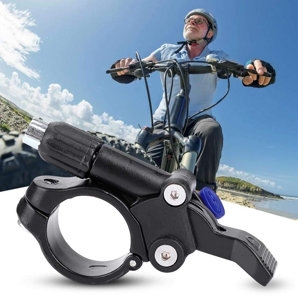 Alomejor Horquilla de Bicicleta Palanca de Bloqueo Remoto Piezas de Bicicleta Accesorios con Cable Interno Bicicleta Tenedor