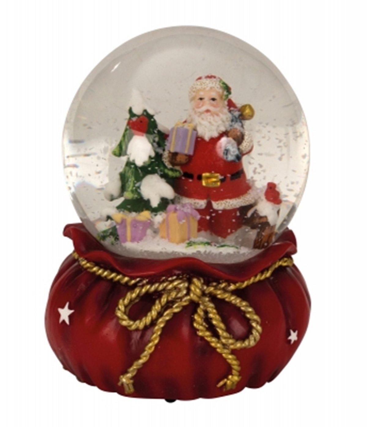 Amazon.de: Spieluhr Schneekugel Weihnachten Xmas-Schneekugel mit ...