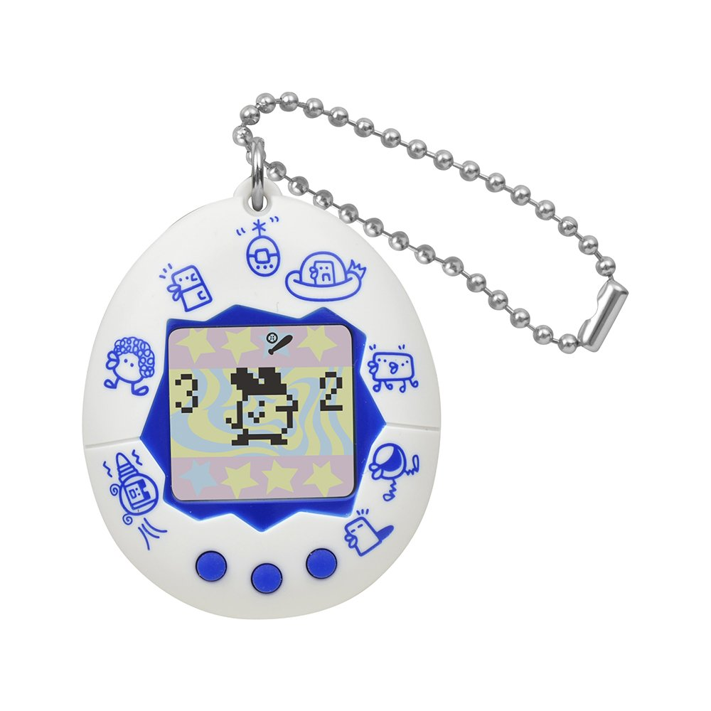 11 Month] Tamagotchi Celebration 20 Princess Yoshiko – Clay. A New Discovery. Tamagotchi White (Pattern) Bandai