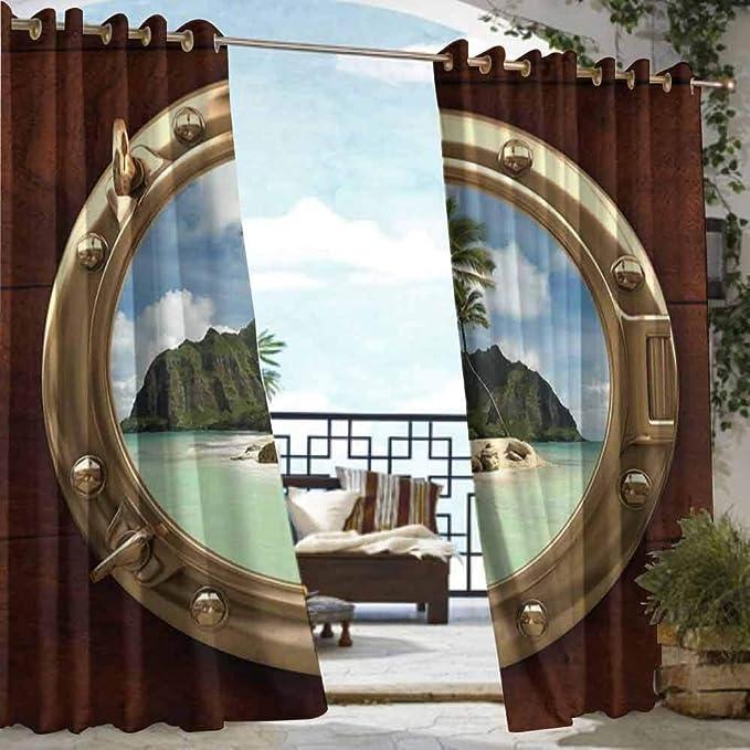 DILITECK - Cortina para pérgola, decoración Hawaiana, Flores de ...