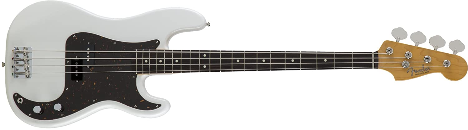Fender エレキベース MIJ Traditional '60s Precision Bass® Rosewood Arctic White B075DHG3ZT アークティックホワイト アークティックホワイト