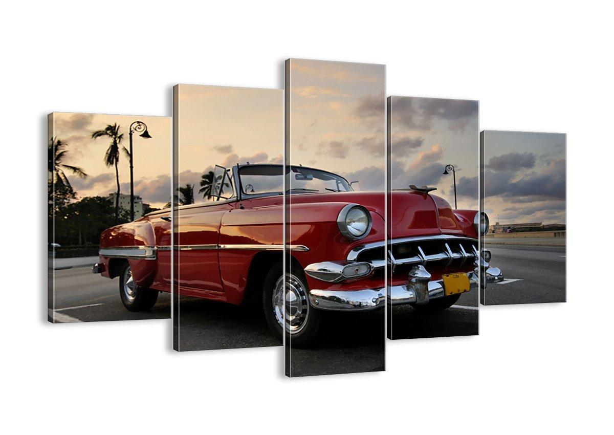 Bild auf Leinwand - Leinwandbilder - fünf Teile - Breite  150cm, Höhe  100cm - Bildnummer 0186 - fünfteilig - mehrteilig - zum Aufhängen bereit - Bilder - Kunstdruck - EA150x100-0186