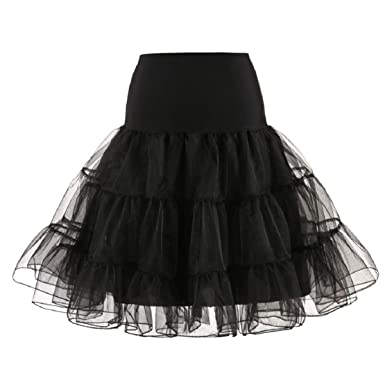 bfd8664ba3 Women High Waist Midi Tutu Skirt Princess Tulle Skirt Mesh Layered A-line Wedding  Party