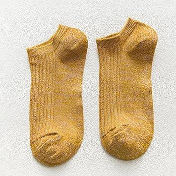 Sock Las Mujeres del Barco Calcetines Primavera Verano de Fibra de bambú de Oro y Plata Alambre Malla Transpirable Damas Calcetines Calcetines Mujer ...