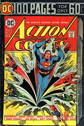 Action Comics #437 GD ; DC comic book