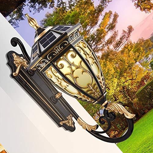 avvioU - Lampada da parete a LED a energia solare, per esterni e esterni moderno 1