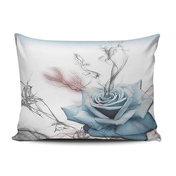 Amazon.com: Fanaing Bedroom - Funda de almohada de cristal ...