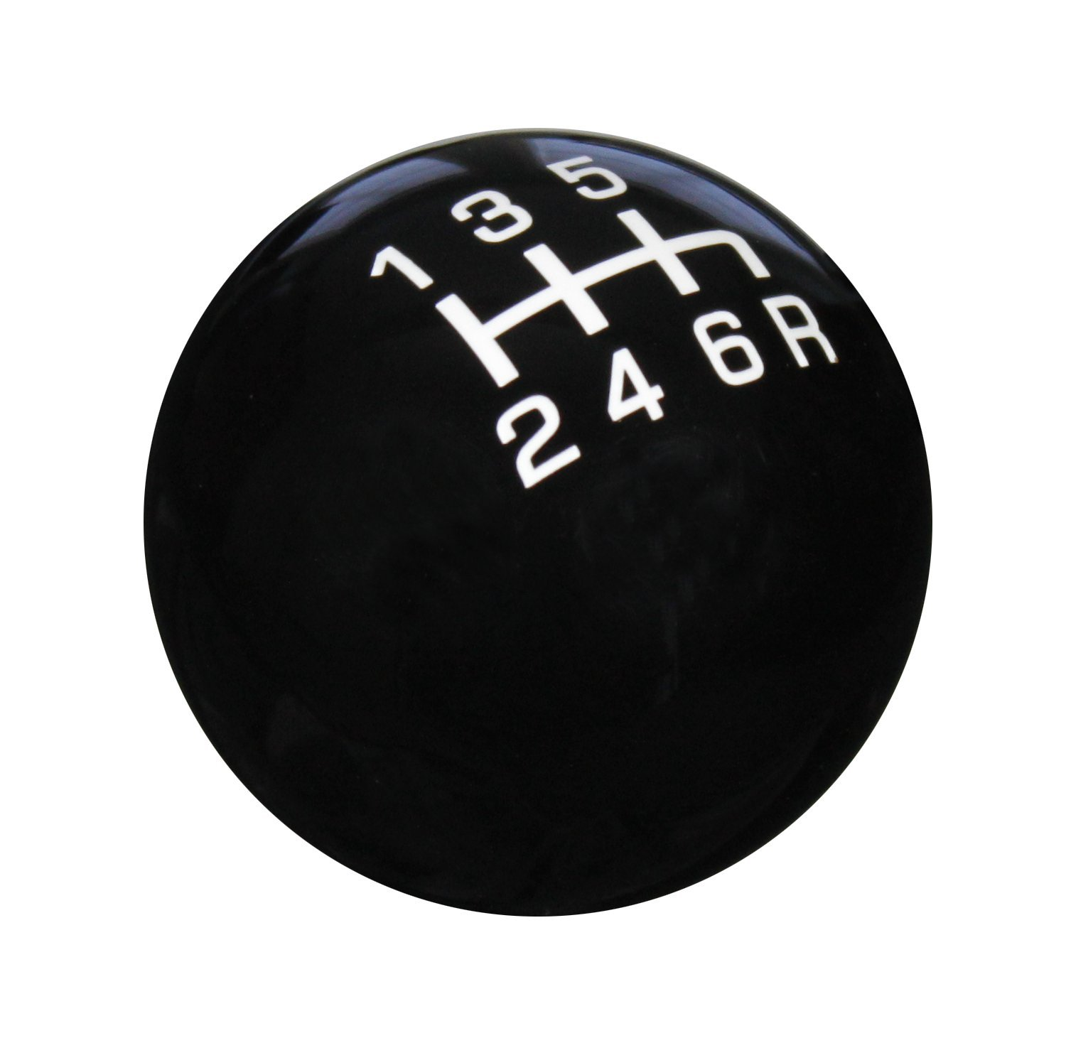 SK504NL-PW-6RDR Pro Series Red//White 6-Speed Reverse Lower Right Shift Knob Speed Dawg