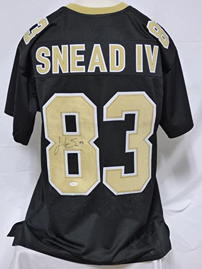 Willie Snead (Carolina Panthers) Autographed Jersey - Iv Custom - JSA  Certified - Autographed 097a8a2f5