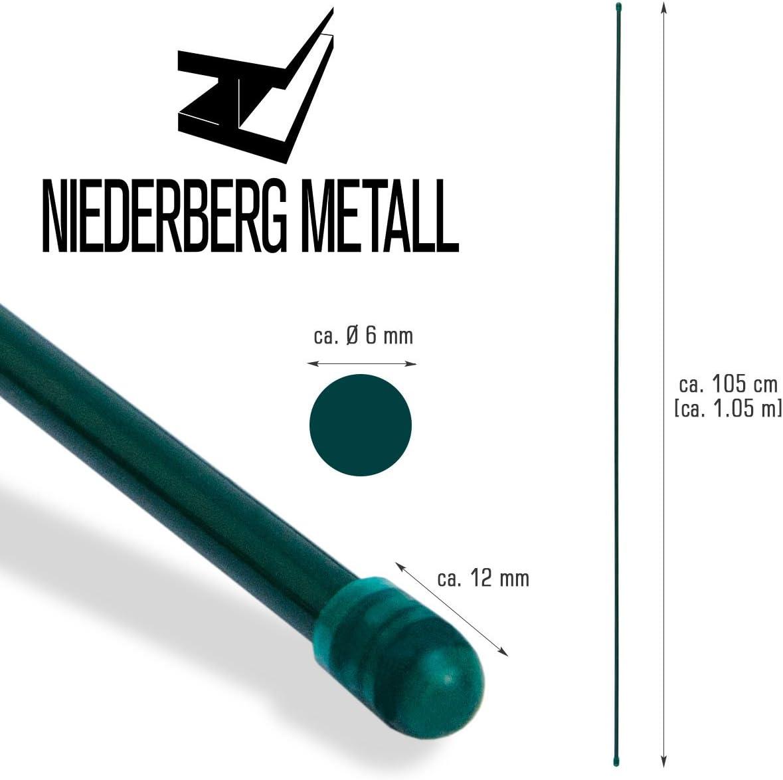 Geflechtspannstab 130 cm Zaun-Spannstab Ø 6 mm Zaunstab Zubehör Maschendrahtzaun